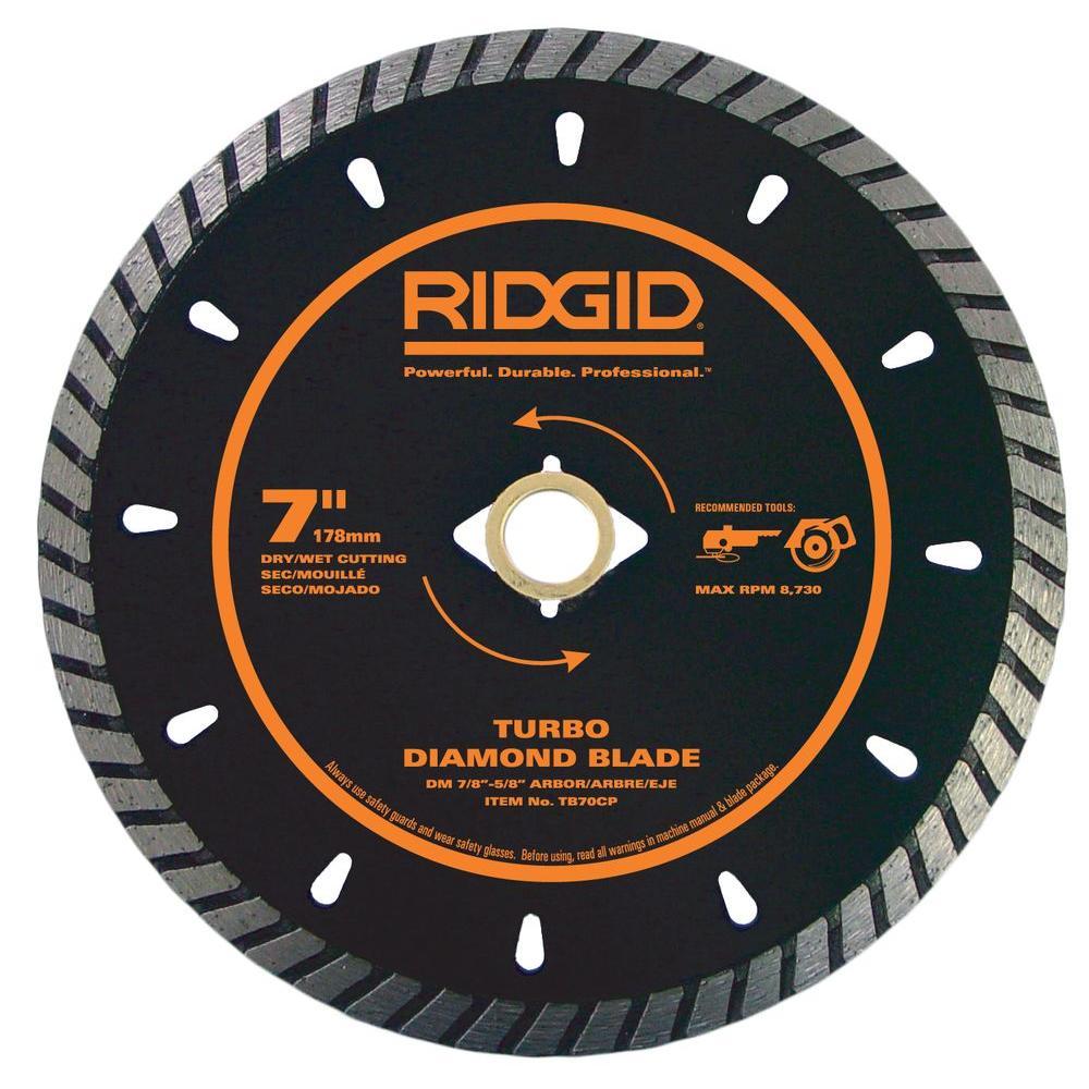 7 in. Turbo Diamond Blade