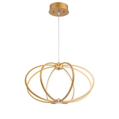 Leggero Collection 8-Light Gold LED Pendant