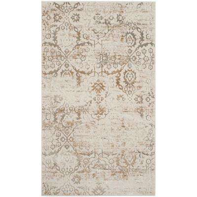 Artifact Gray/Cream 3 ft. x 5 ft. Area Rug