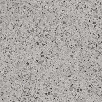 3 in. x 3 in. Quartz Countertop Sample in Castle