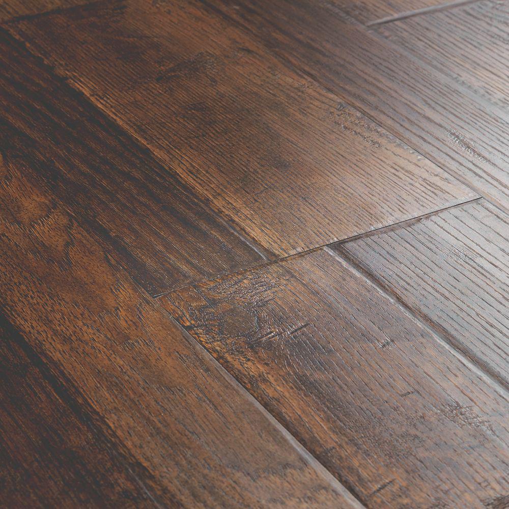Medium Brown Laminate Wood Flooring