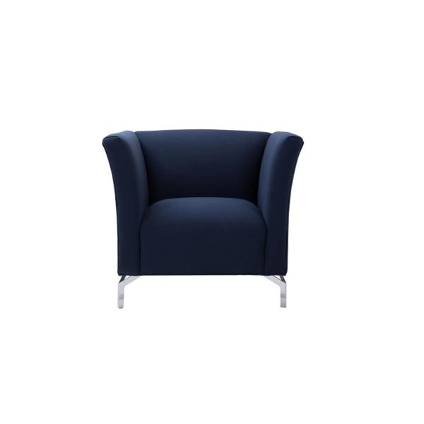 Astounding Sandy Wilson Camilla Mid Century Midnight Blue Modern Chair Andrewgaddart Wooden Chair Designs For Living Room Andrewgaddartcom