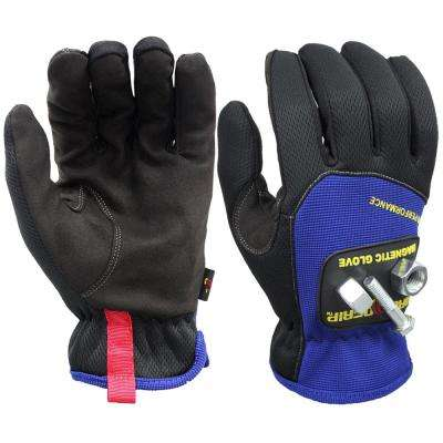 Pro Performance Medium Magnetic Gloves with Touchscreen Technology