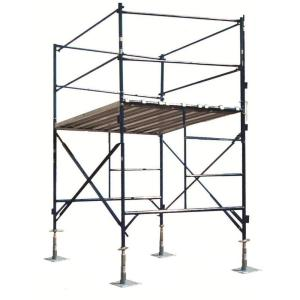 PRO-SERIES 6 ft. x 7 ft. x 5 ft. 1-Story Commercial Grade Scaffold Tower 2,000 lb. Load Capacity... by PRO-SERIES