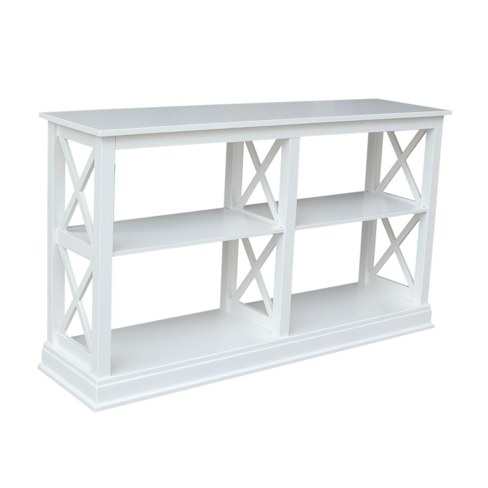 International Concepts Hampton Pure White 60 In W Console Table