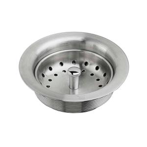 American Standard Kitchen Sink Drain With Strainer In Stainless Steel 9028000 075 The Home Depot