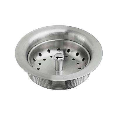 Kitchen Sink Drain with Strainer in Stainless Steel