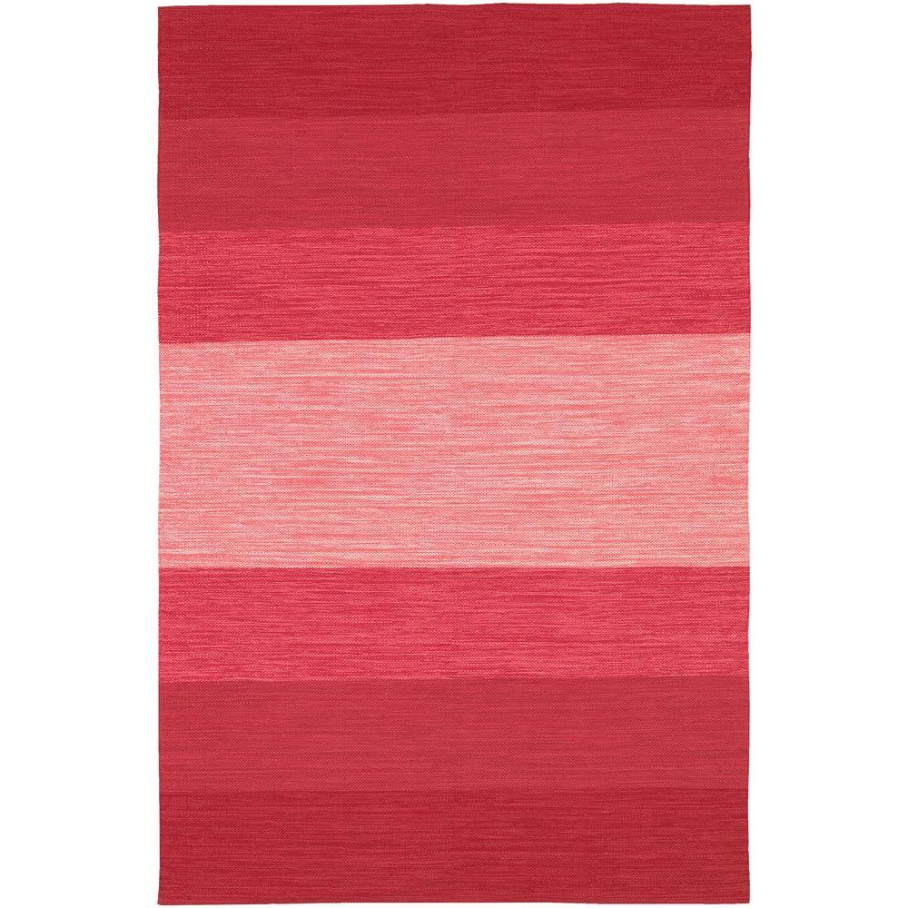 Linon Home Decor Trio Pink/Magenta 5 Ft. X 7 Ft. Indoor