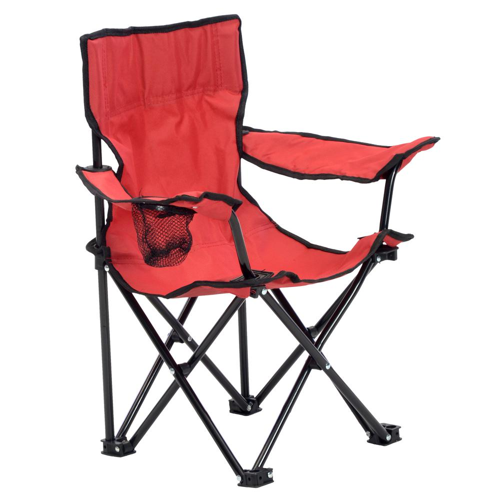 Quik Shade Kid's Red Folding Chair