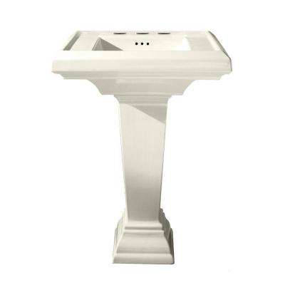 ADA Compliant Pedestal Sinks Bathroom Sinks The Home Depot - Ada compliant bathroom sink requirements