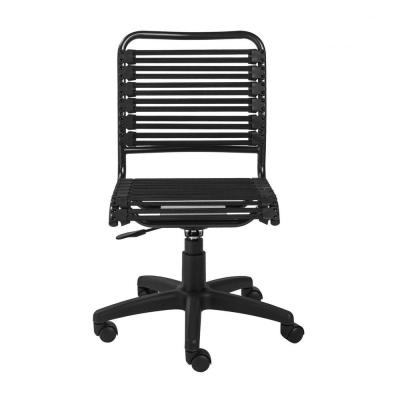 Amelia Black Low Back Office/Desk Chair