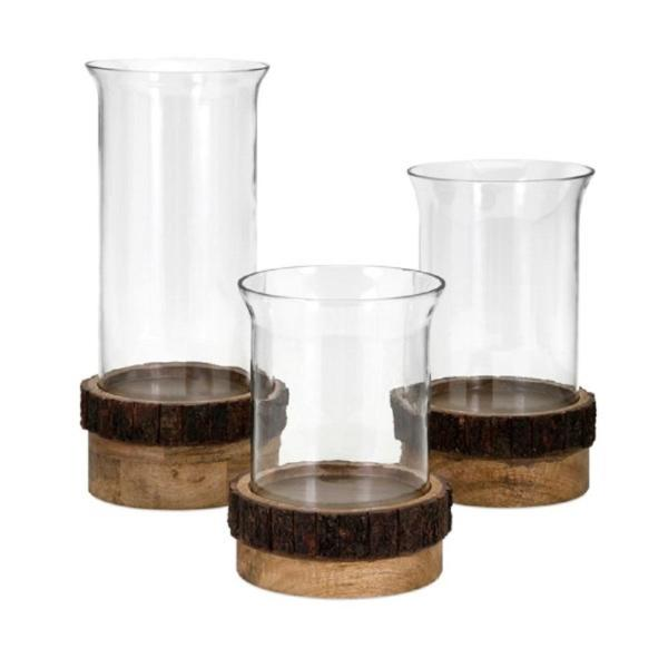 Damari Pillar Candle Holders (Set of 3)
