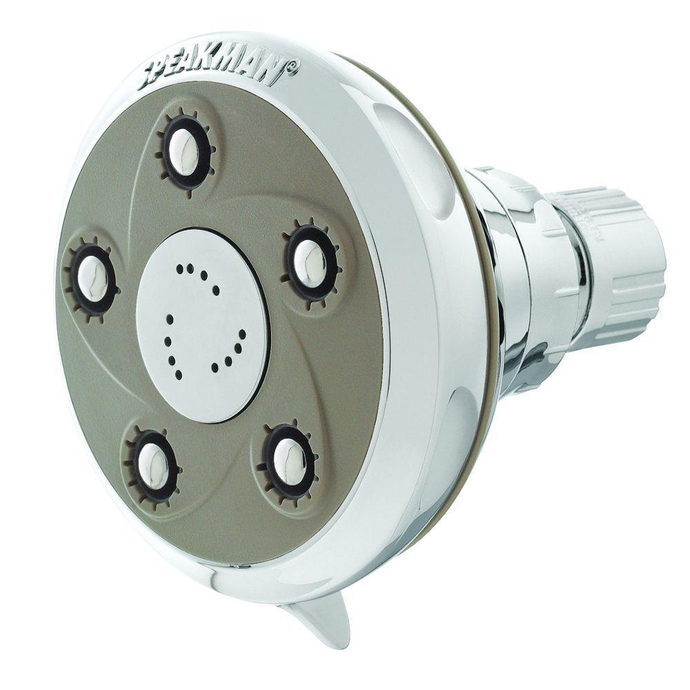 Speakman Anystream Napa 3-Spray Showerhead in Polished Chrome