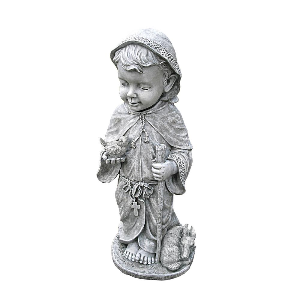 24 in. H Baby Saint Francis Large Sculpture