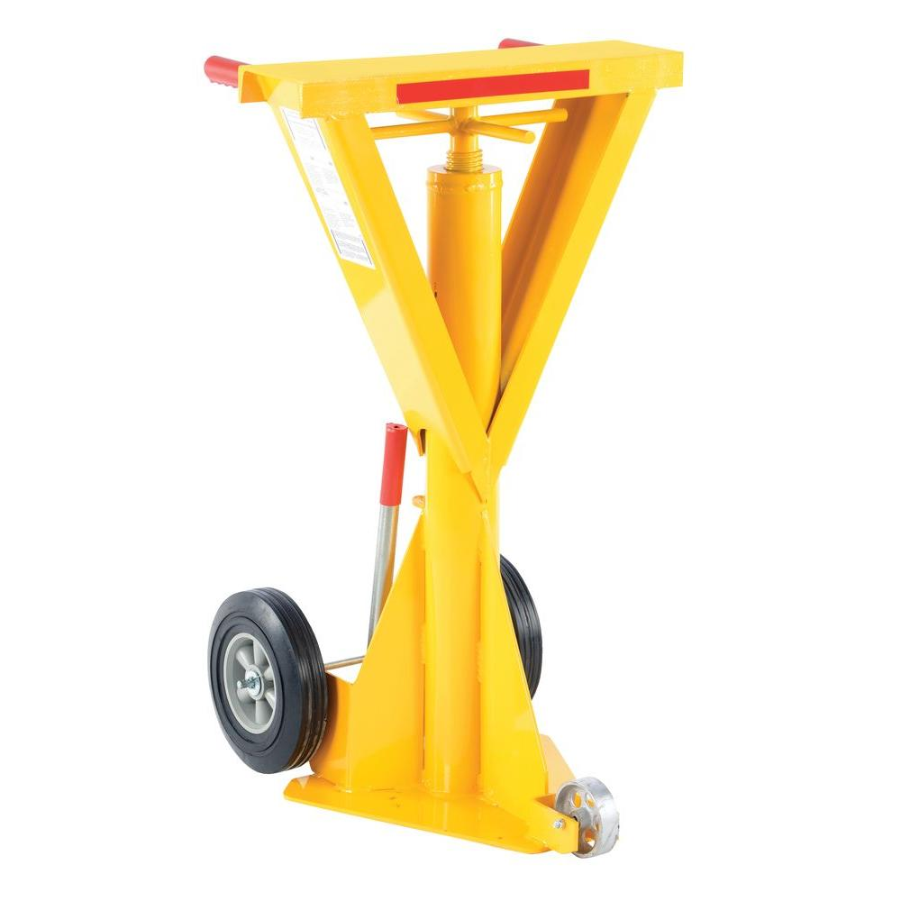 40,000 lb. Spin Top Beam Ratchet Stabilizing Jack