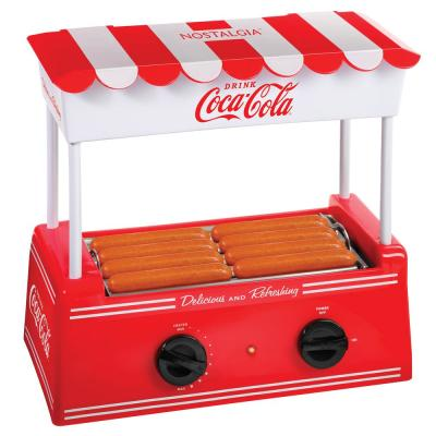 Coke Red Coca-Cola Electric Hot Dog Roller and Bun Warmer