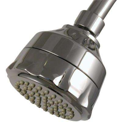 WaterSense Single-Spray Filtered Showerhead in Chrome