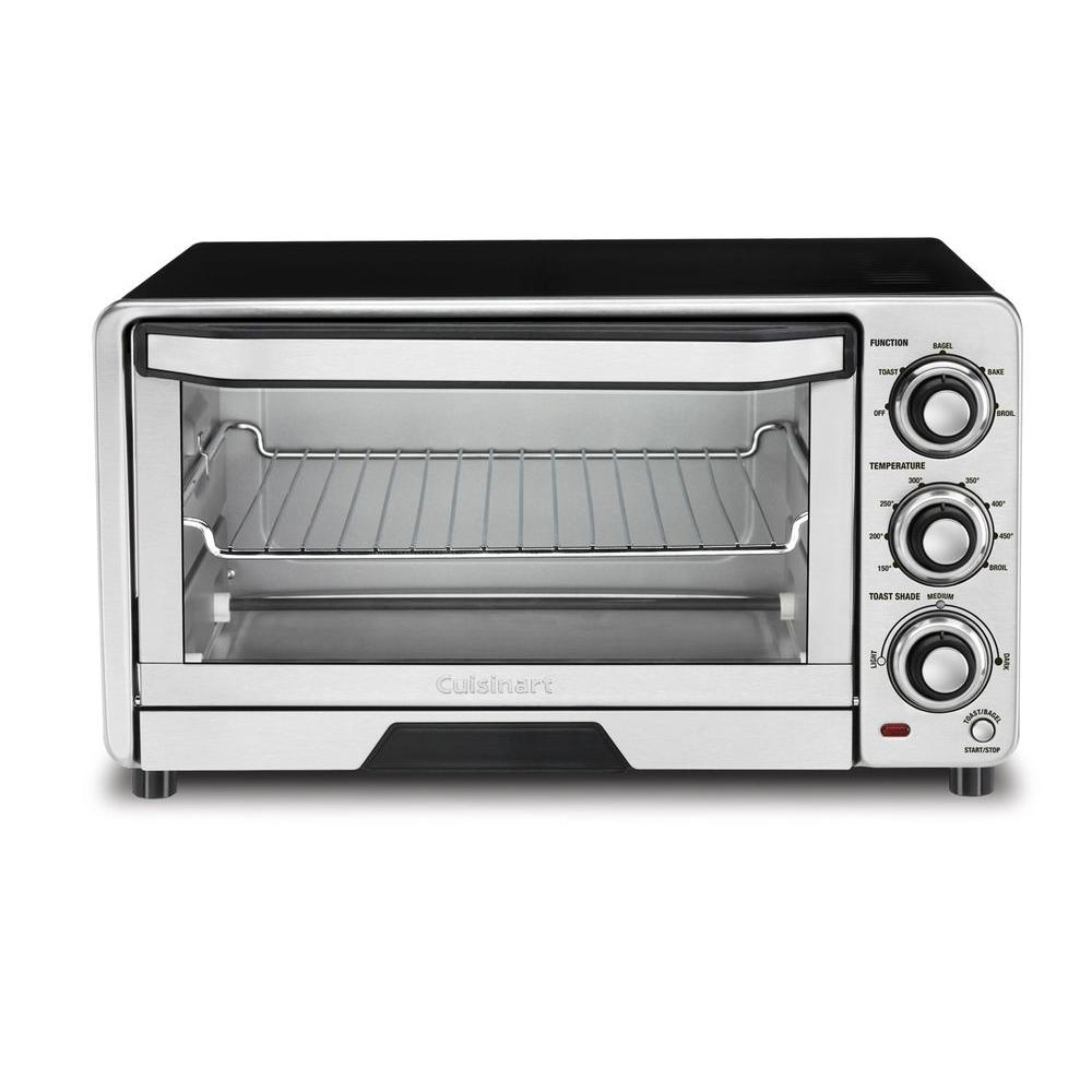 Custom Classic Toaster Oven Broiler in Stainless Steel