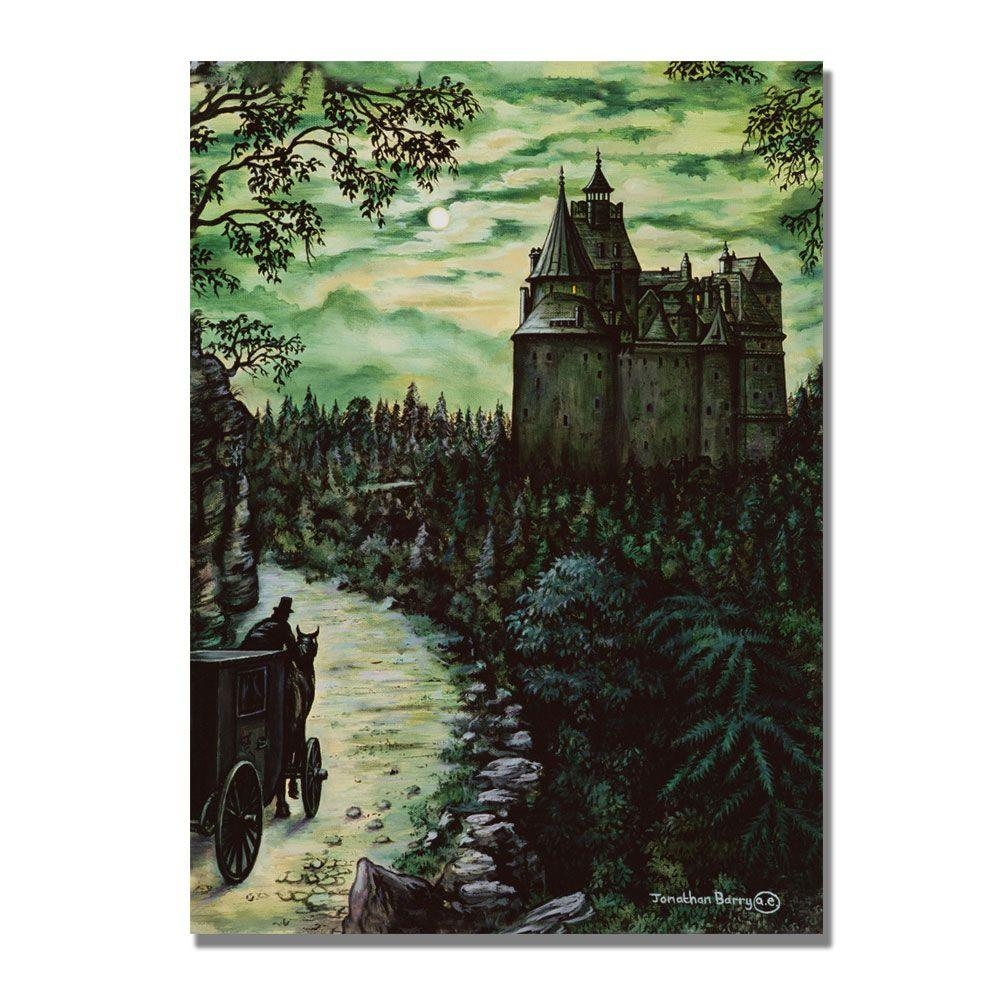 Trademark Fine Art 24 in. x 32 in. The Borgo Pass Canvas Art-DISCONTINUED