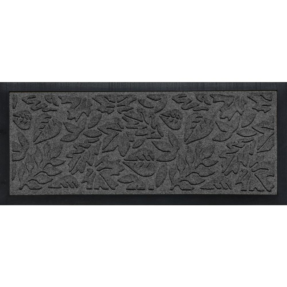 Aqua Shield Boot Tray Fall Day Charcoal 15 in. x 36