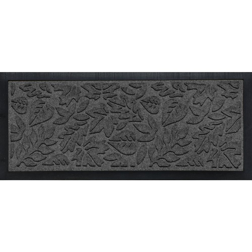 Bungalow Flooring Aqua Shield Boot Tray Fall Day Charcoal 15 in. x 36 in. Door Mat