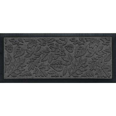 Aqua Shield Boot Tray Fall Day Charcoal 15 in. x 36 in. Door Mat