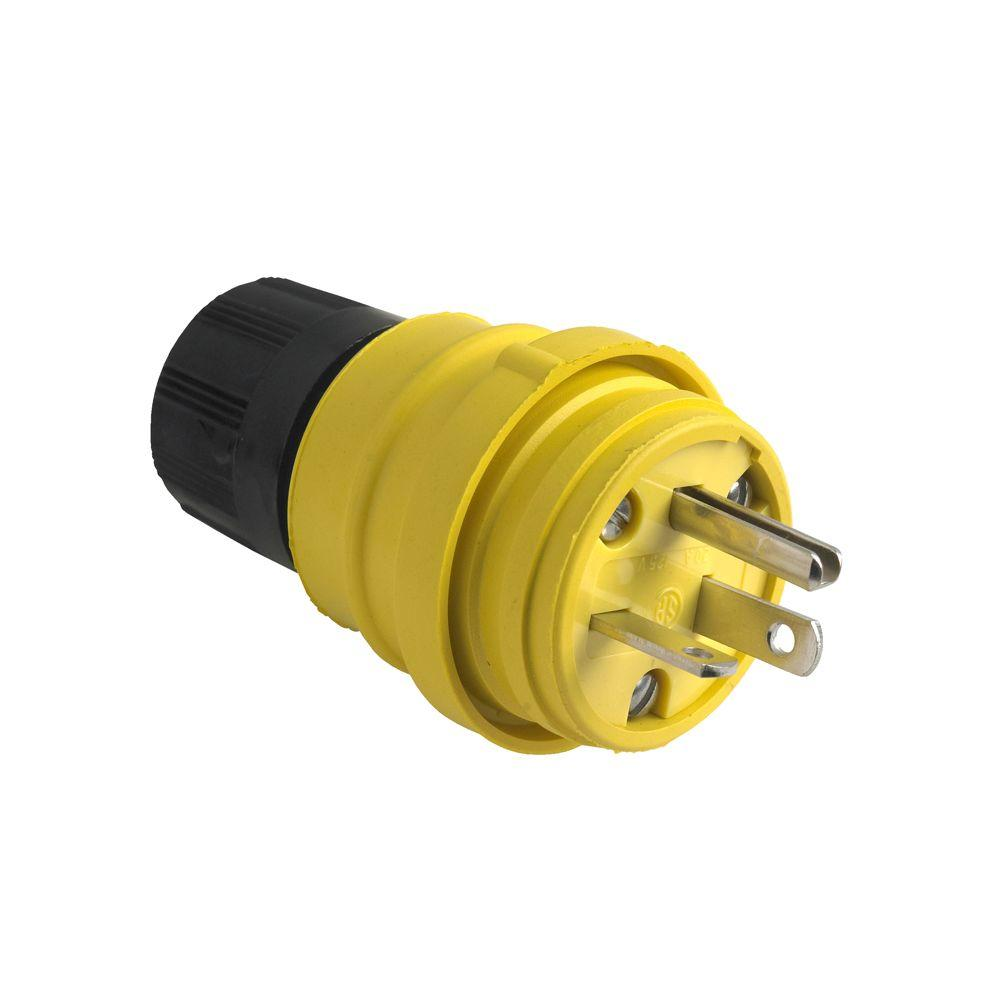 15 Amp Electrical Plugs Connectors Wiring Devices Light Dodge Ram 20 125 Volt Watertight Plug