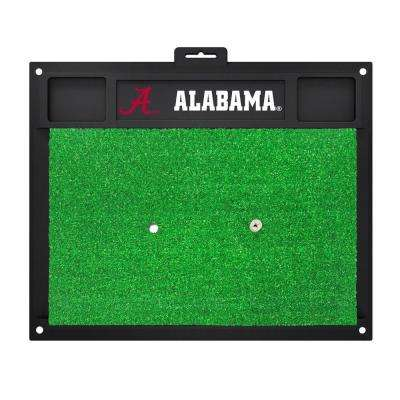 NCAA University of Alabama 17 in. x 20 in. Golf Hitting Mat