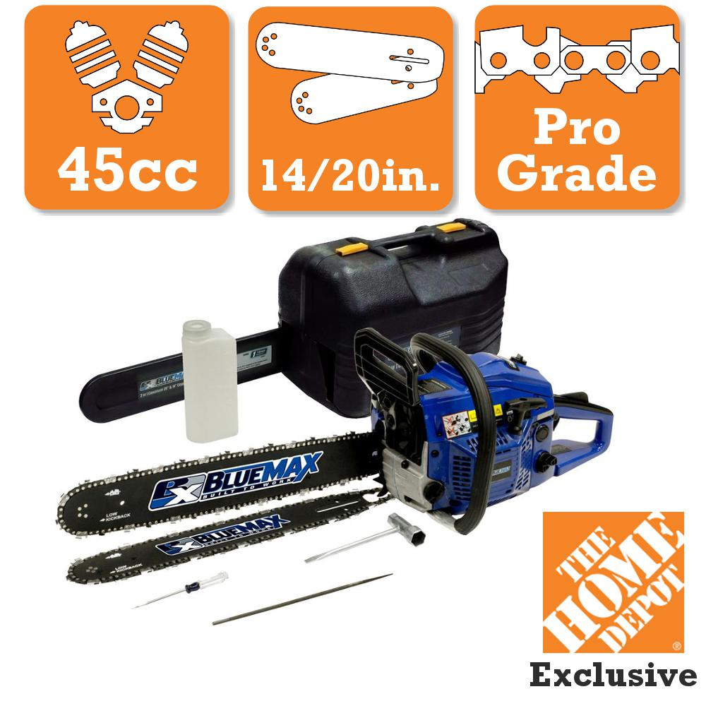 smallest gas chainsaw. 45cc gas chainsaw combo smallest