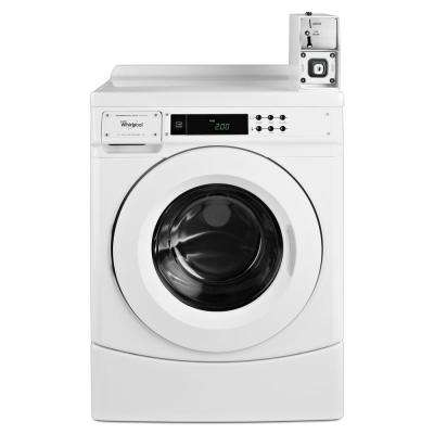 3.1 cu. ft. High-Efficiency White Front Load Commercial Washing Machine
