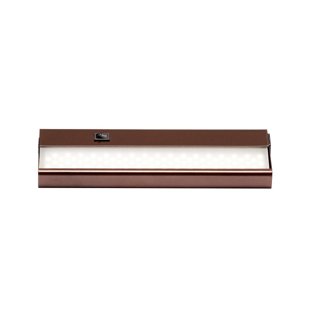 Signature 12 in. LED Rubbed Oil Bronze Under Cabinet Light with