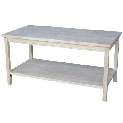 Portman Unfinished Coffee Table