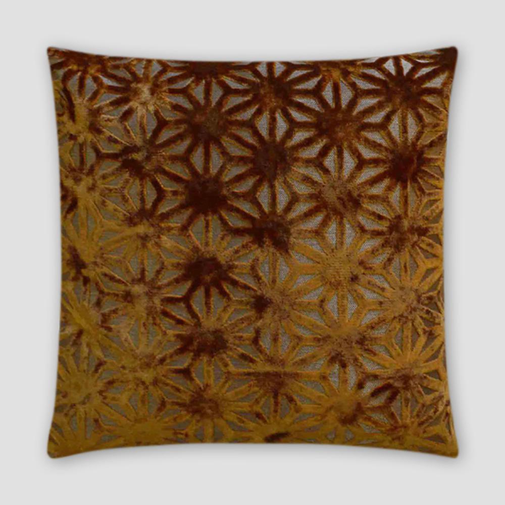 Regalia Pecan Feather Down 18 in. x 18 in. Standard Decorative Throw Pillow