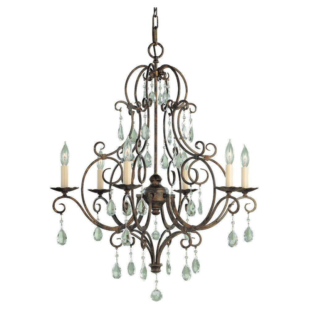 Feiss chateau 6 light mocha bronze single tier chandelier f19026mbz feiss chateau 6 light mocha bronze single tier chandelier aloadofball Gallery
