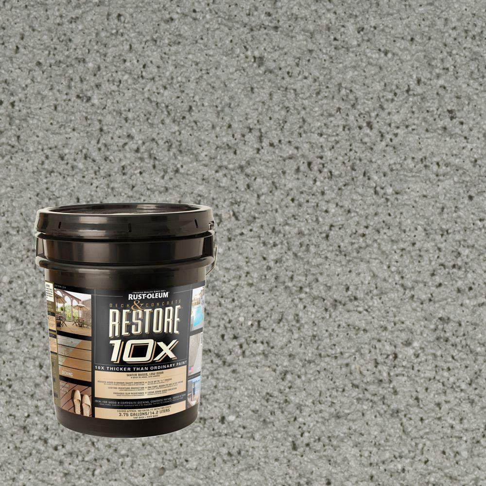Rust-Oleum Restore 4-gal. Granite Deck and Concrete 10X Resurfacer