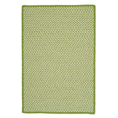 Sadie Lime 4 ft. x 6 ft. Indoor/Outdoor Braided Area Rug