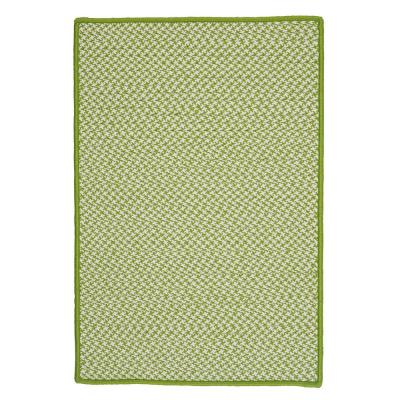 Sadie Lime 5 ft. x 8 ft. Indoor/Outdoor Braided Area Rug
