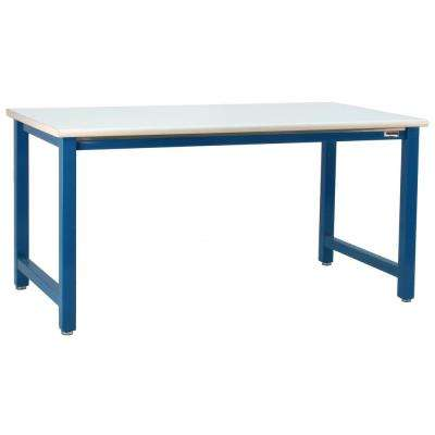 Kennedy Series 30 in. H x 60 in. W x 24 in. D, Formica Laminate Top With Round Front Edge, 6,600 lbs. Capacity Workbench