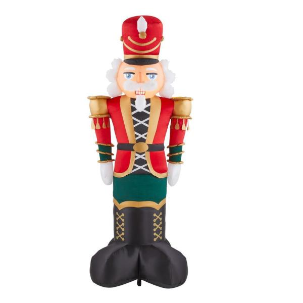 8 ft. Inflatable Giant-Sized Nutcracker
