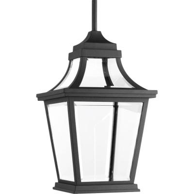 Endorse Collection 1-Light Outdoor Black LED Hanging Lantern
