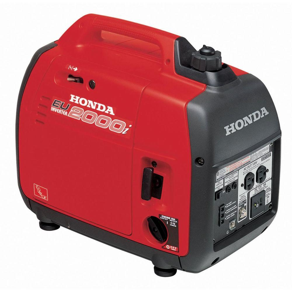 Honda 1600-Watt Gasoline Powered Portable Generator with Eco ...