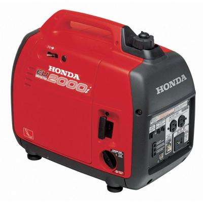 2,000-Watt Super Quiet Gasoline Powered Portable Inverter Generator with Eco-Throttle and Oil Alert
