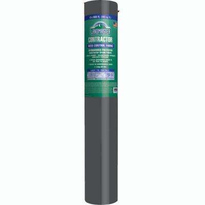 6 ft. x 100 ft. PolyPro 55 Contractor Weed Barrier Landscape Fabric, Heavy Duty