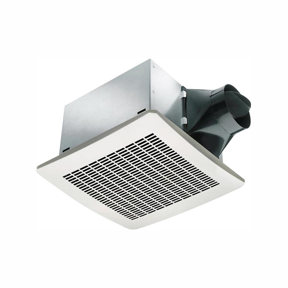 Signature Series 130 CFM Humidity Sensing Ceiling Bathroom Exhaust Fan ...