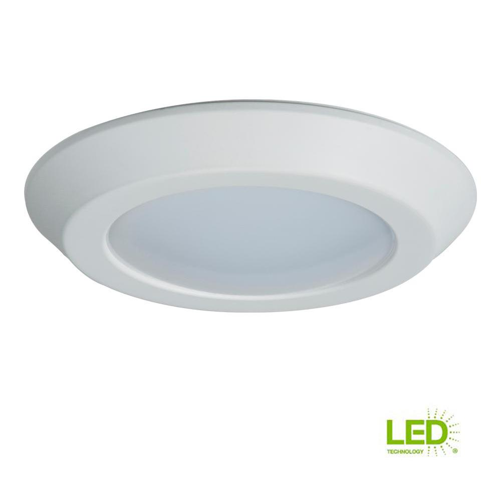 Halo Bld 6 In White Integrated Led Recessed Ceiling Mount Light