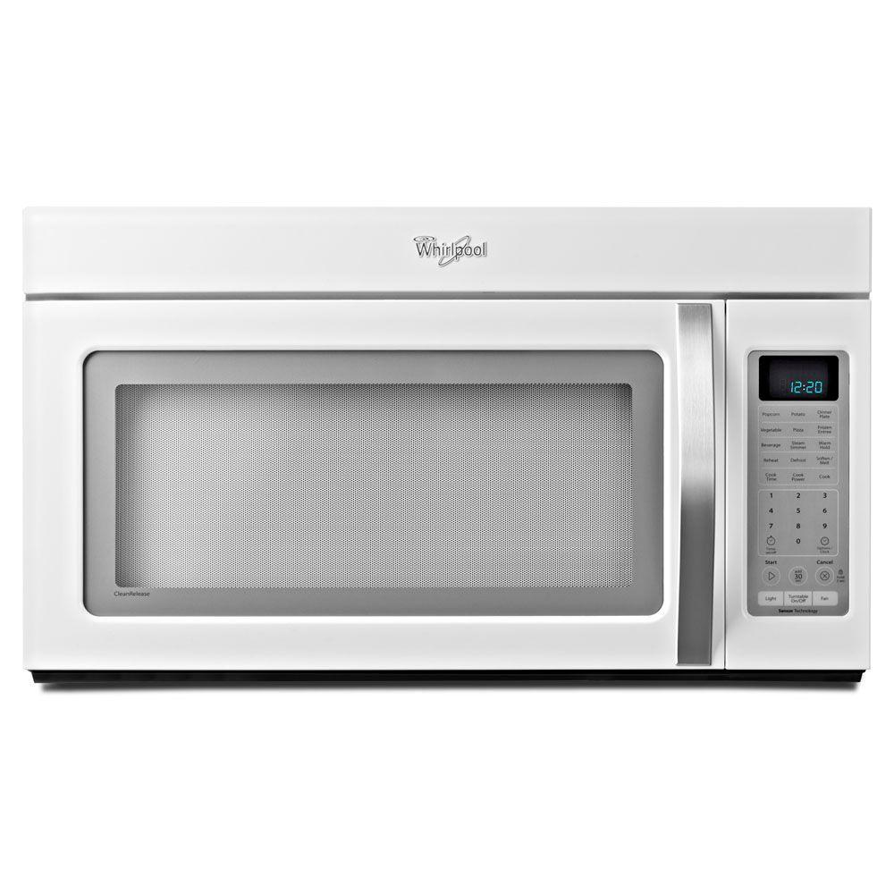 Whirlpool 2.0 cu. ft. Over the Range Microwave in White Ice with Sensor Cooking-DISCONTINUED