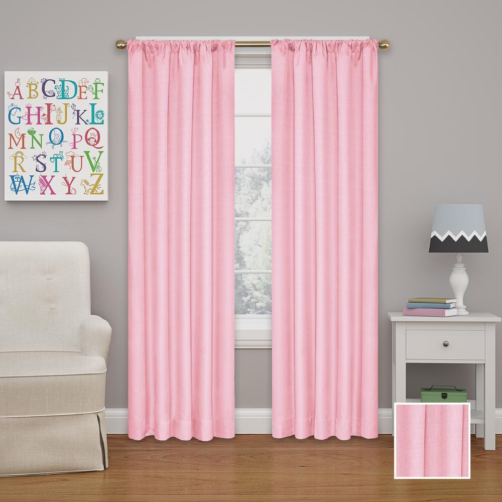 L Bouquet Rod Pocket Curtain