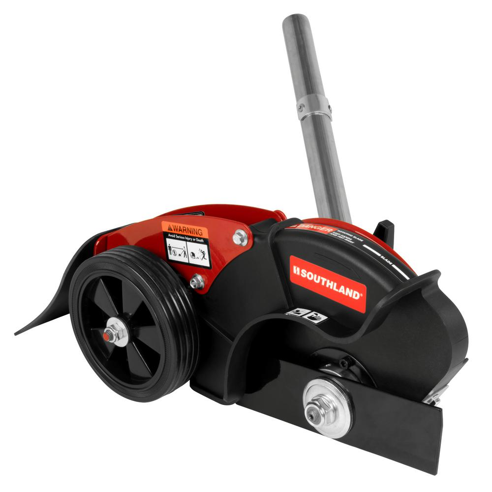Southland Edger Attachment with 8 in. Straight Blade for Southland Wheeled String Trimmer Mower