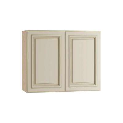 Holden Assembled 30x24x12 in. Double Door Wall Kitchen Cabinet in Bronze Glaze
