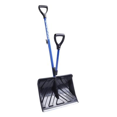 Shovelution 18 in. Strain-Reducing Snow Shovel with Spring-Assist Handle